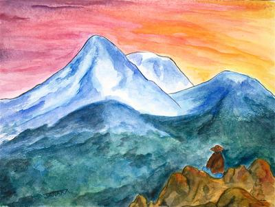 Gazing upon Shasta, Janaka Stagnaro