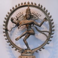 Nataraja's dance of destruction and creation.