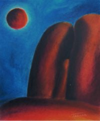The Lingam points to the sphere of Concsiousness